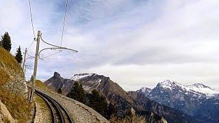 Download Driver's Eye View - Schynige Platte Railway (Switzerland) Video