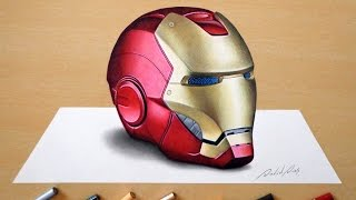 Download 3D Drawing: Iron Man's helmet Video