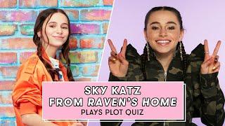 Download Sky Katz Takes a Raven's Home Quiz | Plot Quiz Video