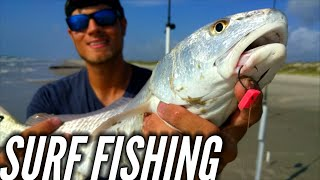 Download Surf fishing with FishBites? Redfish!!! Video