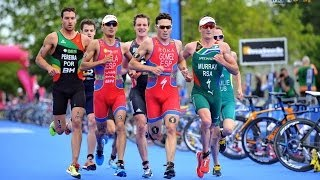 Download The most amazing last mile in a triathlon - epic sprint finish Video