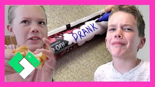 Download AFTER SCHOOL PRANK!! #GoGURTPrankWars | Clintus.tv Video