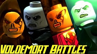 Download Evolution of Voldemort Battles in LEGO Harry Potter Games (2010-2016) Video