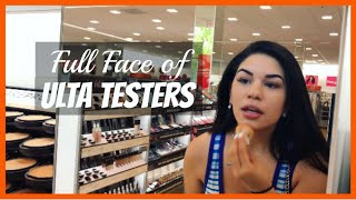 Download Full Face Using Ulta/Sephora Testers PART 2!!   YessiWaters Video