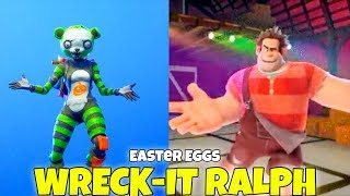 Download Wreck It Ralph Dancing HOT MARAT EMOTE & Traveling (Easter Eggs) Fortnite Battle Royale Video