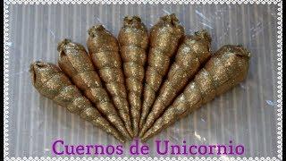 Download Como hacer Cuernos de Unicornio para decoraciónes y manualidades Video