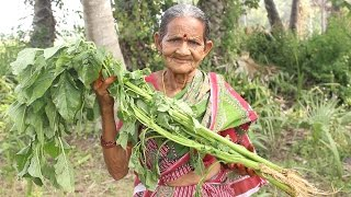 Download Thotakura Chana Dal Curry Recipe By Grandma || Myna Street Food || Food Info Video
