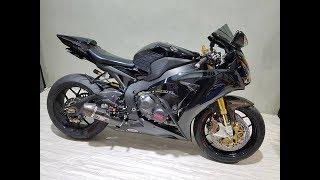 Download Xe & Phong Cách 24h - Siêu phẩm Bò mộng Honda CBR1000RR nâng cấp đen bóng không tỳ vết. Video