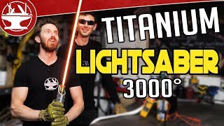 Download 3000° TITANIUM LIGHTSABER BUILD! Video