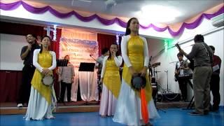 Download Bangkit S'rukan Nama Yesus - SIB Cheras Awana Video