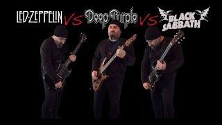 Download Led Zeppelin VS Deep Purple VS Black Sabbath (Guitar Riffs Battle) Video