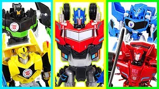 Download Transfomers : RID! Defeat the dinosaurs! Optimus Prime, Bumblebee, Grimlock! - DuDuPopTOY Video