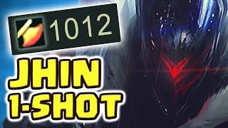 Download 1000 AD NEW PROJECT: JHIN JUNGLE SPOTLIGHT | THE LEGENDARY 1 SHOT |HOW IS THIS POSSIBLE?! Nightblue3 Video