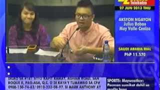 Download Teach for the Philippines on DZMM TeleRadyo (June 2013) Video