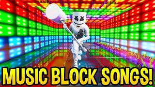 Download *AMAZING* Fortnite SONG CREATIONS Using the *NEW* Music Blocks! (Creative Mode) Video