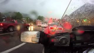Download Gatlinburg in the rain Video