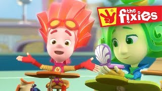 Download The Fixies English ★ Keyboard & Reflexes Plus More Full Episodes ★ Fixies English | Cartoon For Kids Video