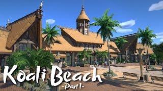 Download Planet Coaster - Koali Beach Park (Part 1) - Tropical Entrance (ft. De-Lady-signer & Keralis) Video