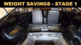 Download Car Weight Removal - Acura Integra - Stage 1 Video