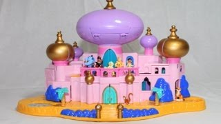 Download Toy Review Disney Jasmine's Royal Palace Aladdin's Castle Polly Pocket Video