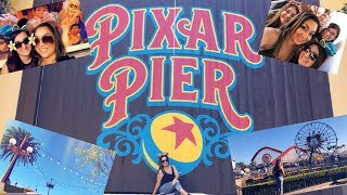 Download THEME PARK VLOG | PIXAR PIER RE-OPENS | 1ST TIME ON THE NEW INCREDICOASTER | FULL RIDE THROUGH Video