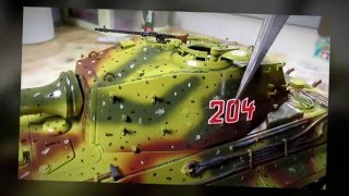 Download Building Tamiya King Tiger Ardennes Front. From Start to Finish Video