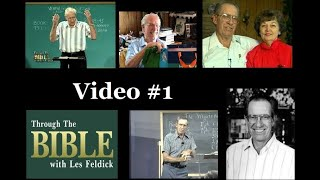 Download Through the Bible with Les Feldick - Book 1, Lesson 1, Segment 1 Video