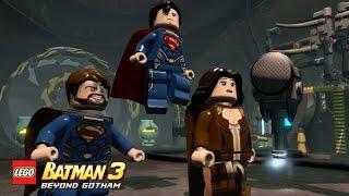 Download LEGO Batman 3 - Guía - DLC Hombre de Acero - Todos los personajes Video