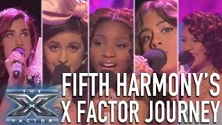 Download Fifth Harmony's X Factor Journey | THE X FACTOR USA Video