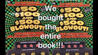 Download We bought an entire book of $50, $100, $500 Blowouts!!! (Part One) Video