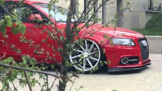 Download Audi A4 B8 Bagged | Vossen 20″ CVT Concave Wheels | Poland Video Video