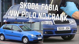 "Download SKODA FABIA VW POLO Won't Start, Key Turns No Crank ""HOW TO REPAIR"" Video"