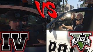 Download LSPD vs LCPD - Police AI (GTA IV vs GTA V) Video