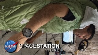 Download Space Station Live: Space Zzzzzs Video