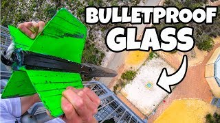 Download GIANT DART Vs. BULLETPROOF GLASS from 45m! Video