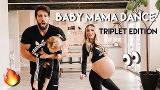 Download TRIPLET BABY MAMA DANCE!!! GOING INTO LABOR WITH TRIPLETS. 32 WEEKS PREGNANT! Video