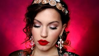 Download Dolce & Gabbana Runway Inspired Makeup Tutorial Video