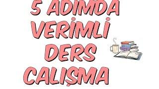 Download 5 ADIMDA VERİMLİ DERS ÇALIŞMA NASIL OLUR? Video