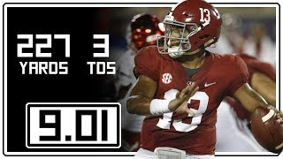 Download Tua Tagovailoa Full Highlights Alabama vs Louisville || 9.01.18 || 227 Yards, 3 Total TDs Video