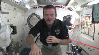 Download Chris Hadfield answers questions live from space with the Governor General of Canada Video