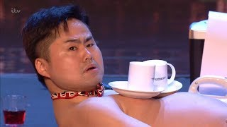 Download Britain's Got Talent 2018 Mr Uekusa Indescribable Variety Act Full Audition S12E01 Video