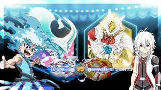 Download NIGHTMARE LUINOR L3 vs SPRYZEN REQUIEM S3 | Beyblade Burst App Battle | ベイブレードバースト 베일 블레이드 버스트 Video