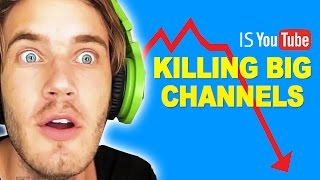 Download Is YouTube Killing BIG Channels? YouTube Algorithm 2016 Updates Video