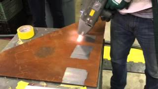 Download Laser cleaning paper with out any damage Video