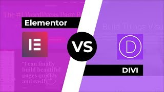 Download Elementor 2.0 vs DIVI: Outstanding Page Builders Compared Video