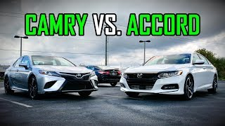 Download 2018 Honda Accord Sport vs. 2018 Toyota Camry SE: Faceoff Comparison Video
