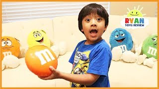 Download Learn Colors with giant M&M Candy for children Video