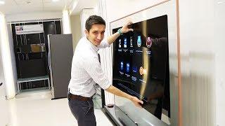 Download Отклеиваем от стены телевизор-обои LG OLED W Video