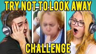 Download ADULTS REACT TO TRY NOT TO LOOK AWAY CHALLENGE Video