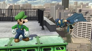 Download Smash 4 - Luigi wins against every level nine CPU by doing absolutely nothing Video